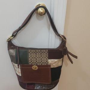 Coach (duffle patchwork)-Authentic bag